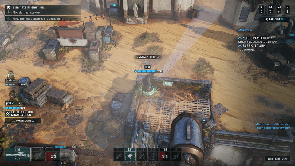 Gears Tactics - screenshot z gry