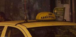 Palestyńczyk chciał zabijać taksówką