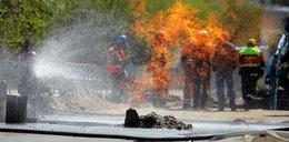 Wybuch gazu na ulicy!