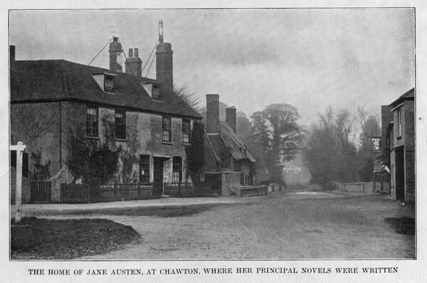 Chawton, posiadłość Jane Austen. Obecnie znajduje się tam muzeum poświęcone autorce i jej twórczości