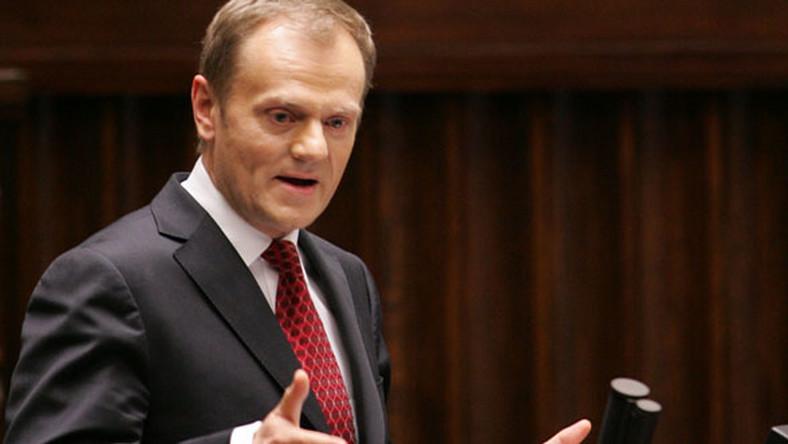 Tusk: PiS i SLD podzielą się stanowiskami