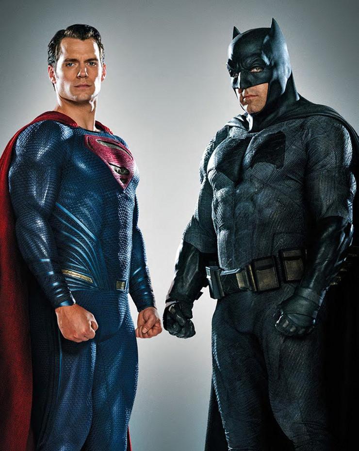 ben aflek henri kavil supermen betmen promo