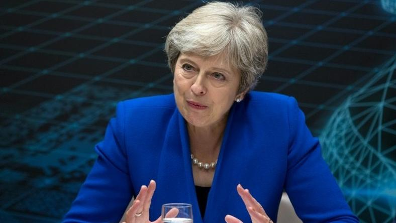 Britain's Prime Minister Theresa May said she was focused on securing a Brexit deal rather than her own future