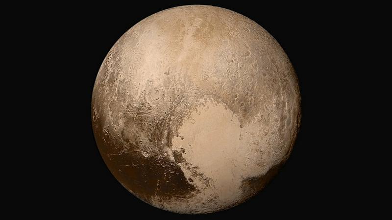 NASA prezentuje nowe materiały z Plutona