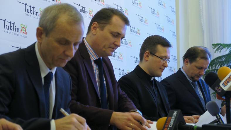 Przedstawiciele czterech lubelskich uczelni podpisali z miastem umowę partnerską