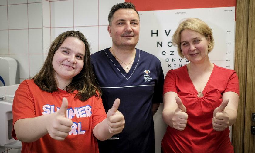 Doktor cudotwórca uratował mi oczy!