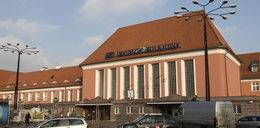 Oto dworzec kolejowy w Gliwicach