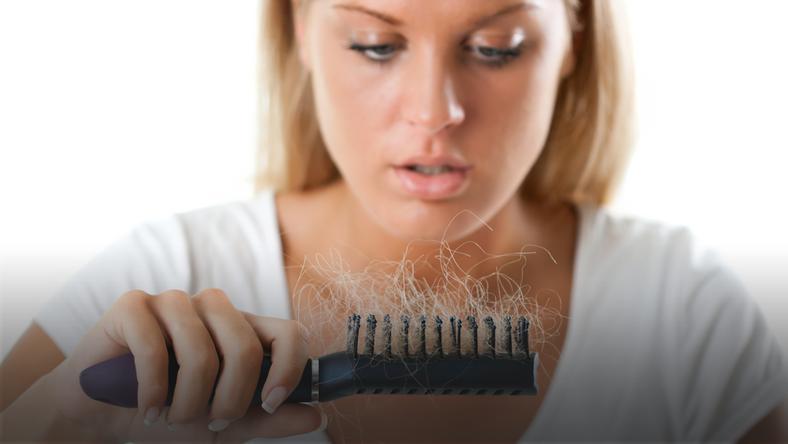 wypadające włosy rak