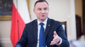 Prezydent Duda: chciałbym, aby amerykańska firma zapewniła dostawy gazu skroplonego do Polski