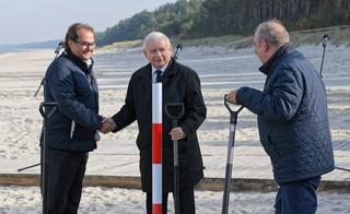 Kaczyński: Przekop Mierzei Wiślanej oznacza suwerenność gospodarczą, ale także militarną