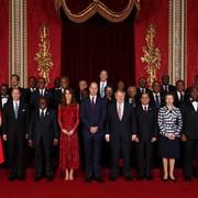 Afričke delegacije na prijemu u Bakingemskoj palati