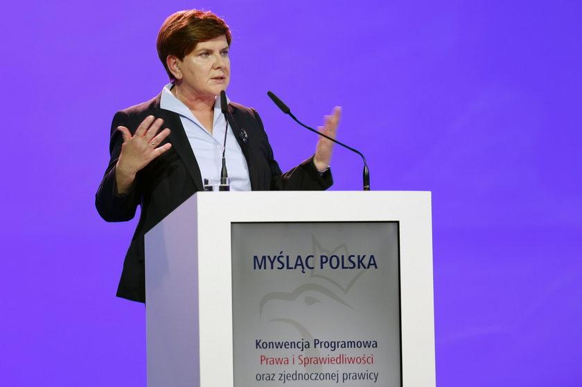 Beata Szydło skrytykowała rząd