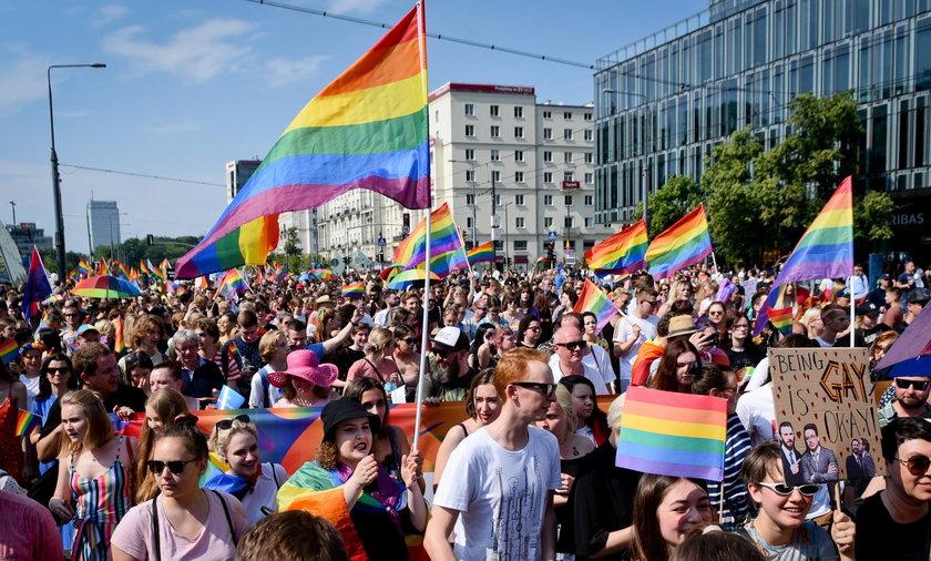 Parada Równości po przerwie spowodowanej pandemią.