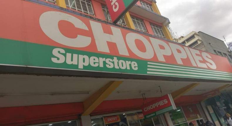 Choppies Supermarket. (Business Today Kenya)
