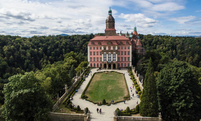 Zamek Książ kryje w sobie jeszcze wiele tajemnic