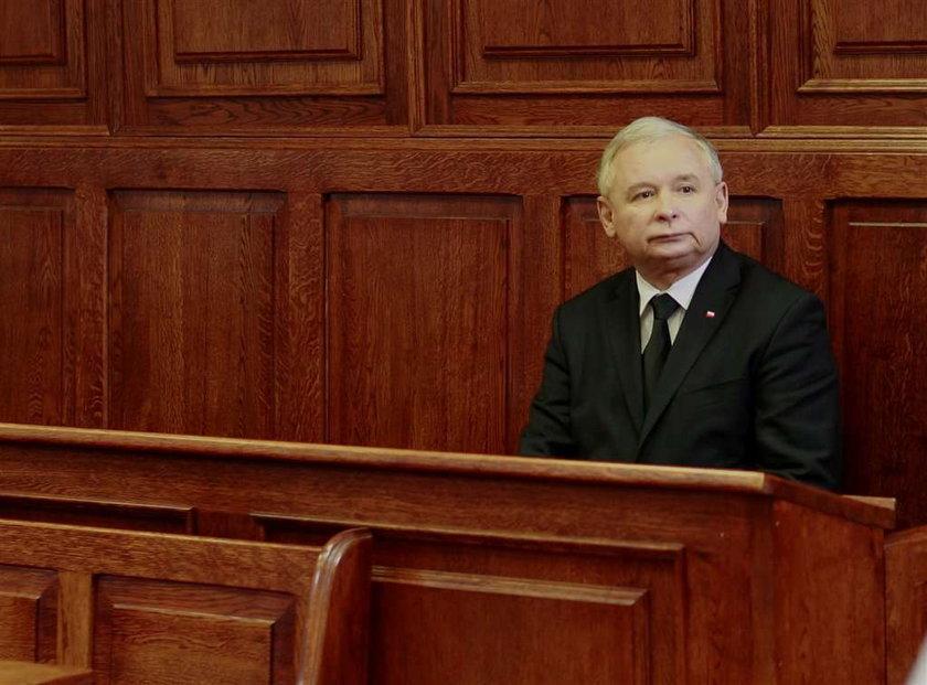 Kaczyński ocenzurowany! Przez sąd