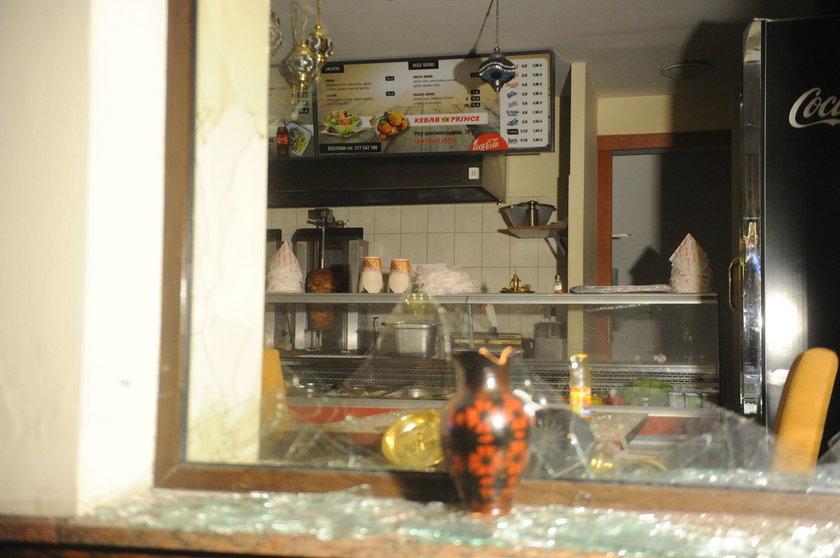 Bar Prince Kebab przed którym doszło do zabójstwa Daniela
