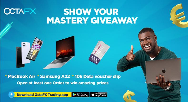 OctaFX presents its Show Your Mastery giveaway