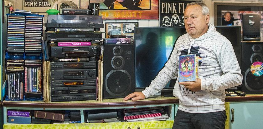 Oto miłośnik zespołu Pink Floyd. Jego muzyczna pasja trwa 50 lat!