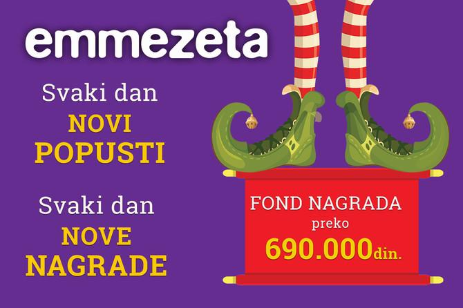 I ove godine u Emmezeti te očekuju svaki dan novi popusti i vredne nagrade!