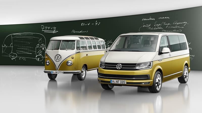 Volkswagen Transporter ma 70 lat