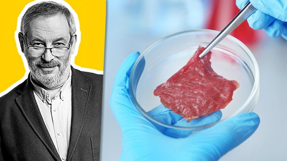 Michał Broniatowski przedstawia: Mięso z laboratorium? Smacznego