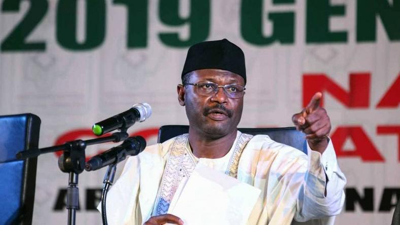INEC chairman, Prof. Mahmood Yakubu, has come under fire for the conduct of the 2019 general elections [Guardian]