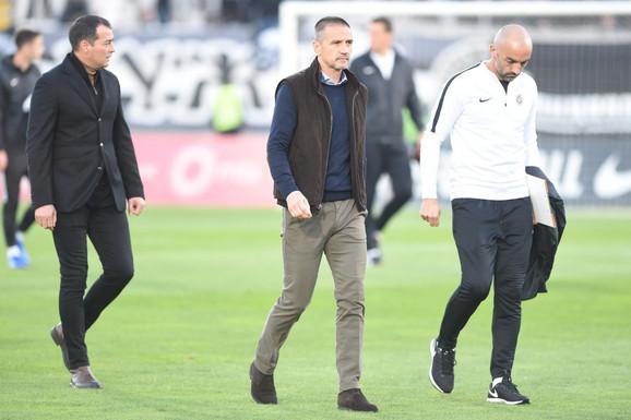 Milan Milijaš u društvu Zorana Mirkovića i Žarka Lazetića