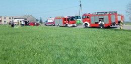Zderzenie autobusu z osobówką koło Pucka. Ranni rodzice i dwoje dzieci