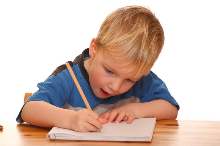 dete piše