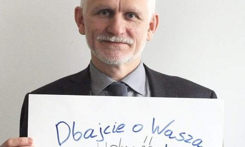 Alaksand Bialacki z przesłaniem do Polaków