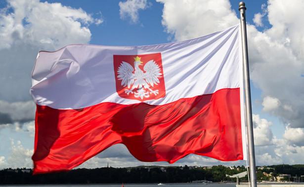Polska flaga, godło, orzeł