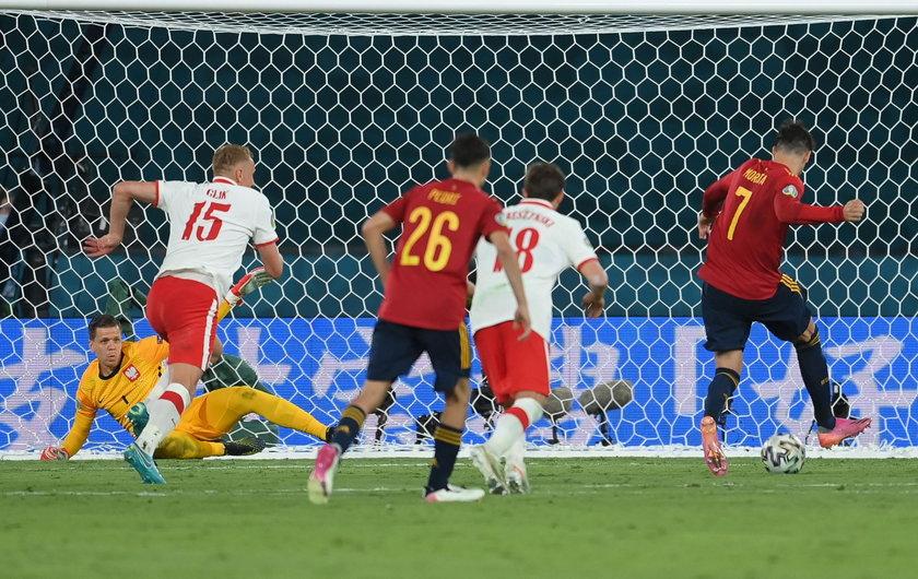 Morata zmarnował parę dogodnych sytuacji do strzelenia gola w inauguracyjnym meczu ze Szwedami, a w rywalizacji z Polską nie wykorzystał rzutu karnego.