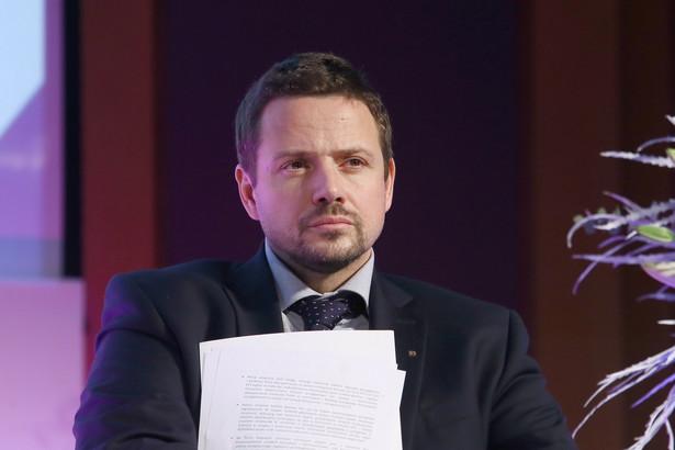 Rafał Trzaskowski o broni dla Ukrainy