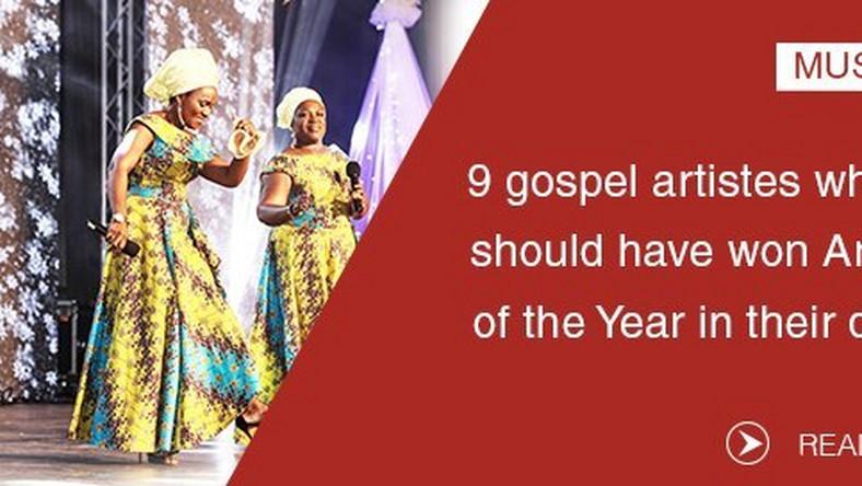 Ghana Music Awards 9 gospel artistes who should have won
