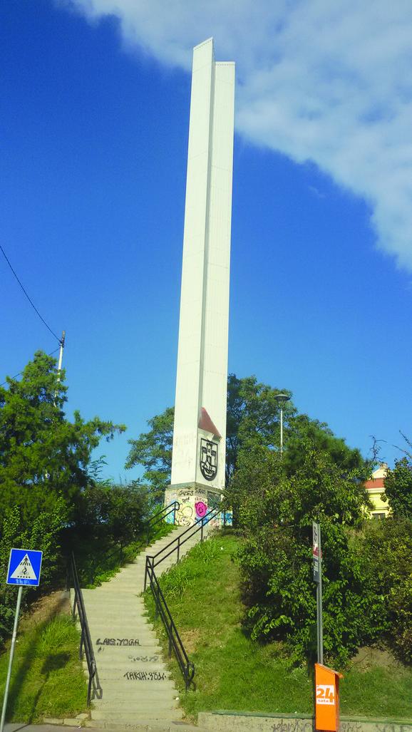 Spomenik kod Brankovog mosta visok 27 metara