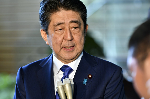 Shinzo Abe premier Japonii