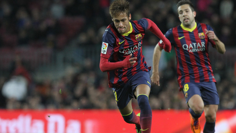 Neymar i Jordi Alba