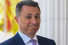Nikola Gruevski EPA Georgi Licovski