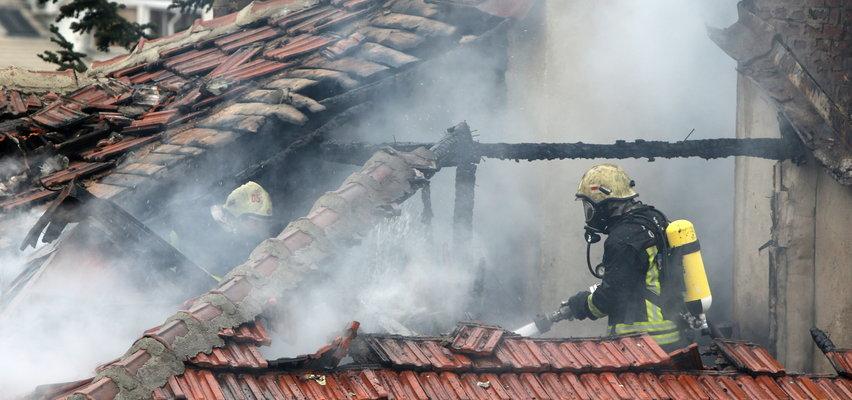 Pożar w Krakowie. Nie żyje staruszka