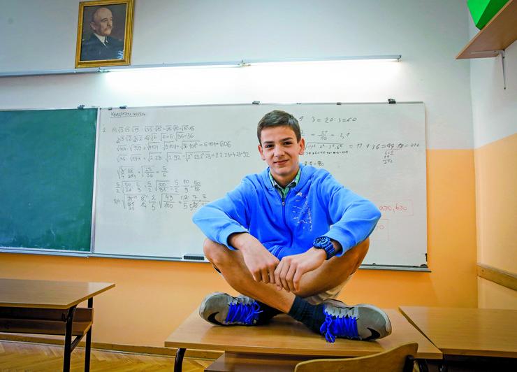 mladi matematičar Jovan Milićev
