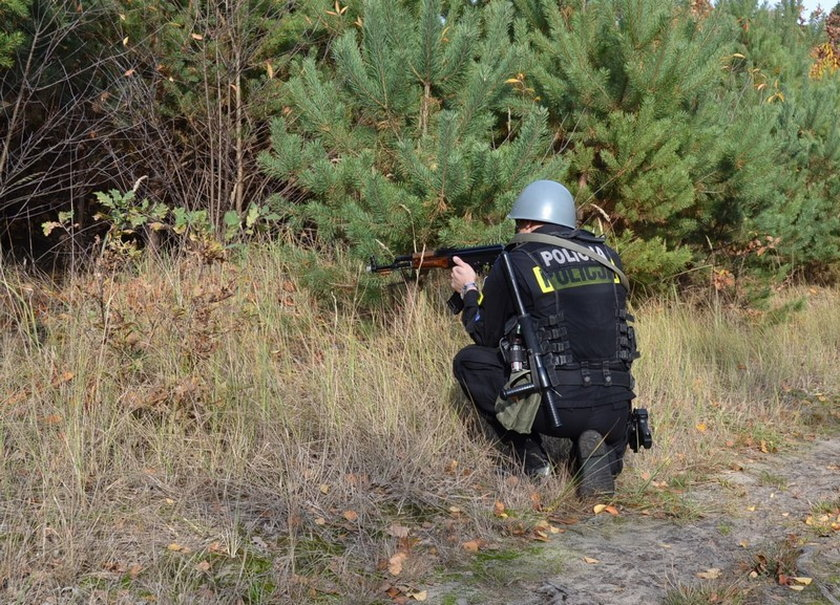 Wielkopolscy policjanci szkolili się w podpoznańskich lasach