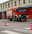 Straż pożarna przejechała kobietę w Warszawie! Tragiczny wypadek