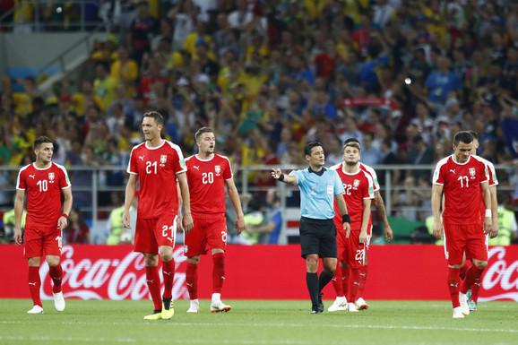 Fudbaleri Srbije nisu uspeli da ostvare uspeh na Mundijalu