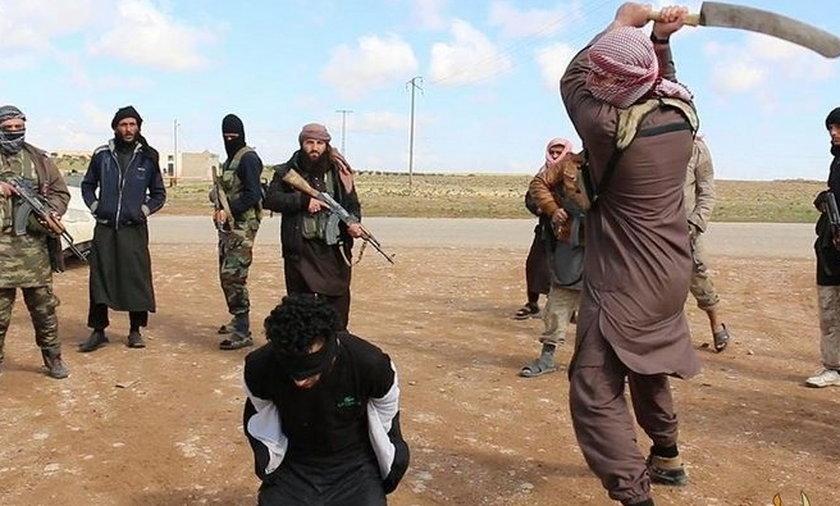 Ścięty przez ISIS