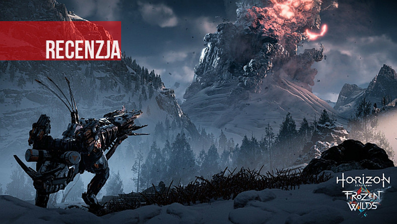 Recenzja Horizon Zero Dawn: The Frozen Wilds. Zimno, ciemno i do domu daleko