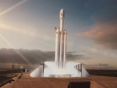 Falcon Heavy wystartuje z historycznego miejsca - tego samego stanowiska, z którego na Księżyc wyruszali astronauci w 1969 roku