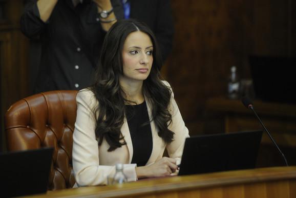 Nela Kuburović, ministar pravde