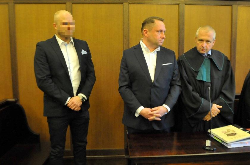 Kamil Durczok w sądzie