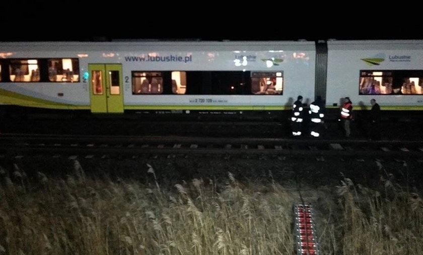 Wypadek pociągu